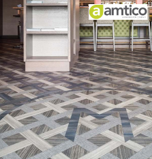 Amtico abstract flooring