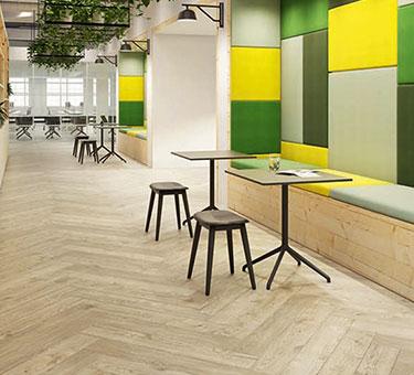 Amtico flooring access